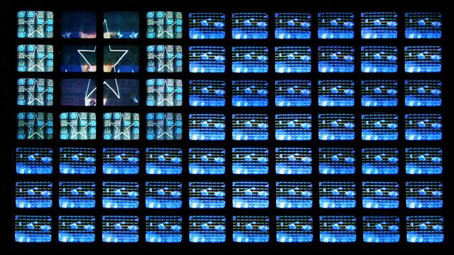 Video Flag, by Nam June Paik.